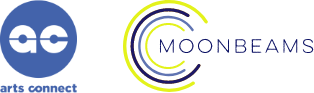 Moonbeams and Arts Connect Logo